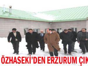 Kayseri Büyükşehir Belediye Başkanı Özhaseki, Konaklı Kayak Merkezini Gezdi