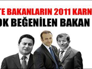 İşte Bakanların 2011 Karnesi
