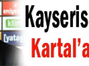 Kayserispor'dan Kartal'a mesaj