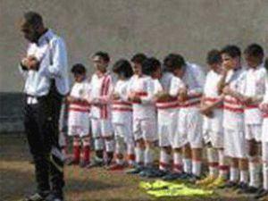 Ünlü futbolcu imamlık yapıyor