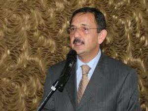 Kayseri Büyükşehir Belediye Başkanı Mehmet Özhaseki Erzurum'da