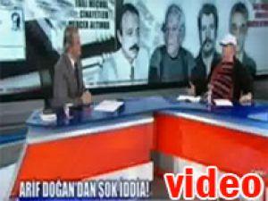 Arif Doğan'dan PKK itirafçısına küfür/Video