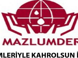 ZULÜMLERİYLE KAHROLSUN İSRAİL!