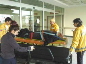 Kayseri Hürriyet'te Trafik Kazası: 1 Yaralı