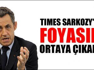 Times Sarkozy'nin foyasını ortaya çıkardı