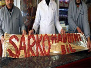 Kayserili Esnaftan Sarkozy'ye Pastırmalı Tepki!