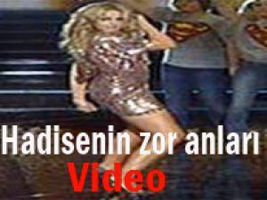 Hadise'nin Zor Anları/Video