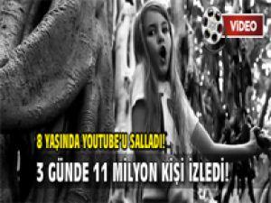 8 Yaşında Youtube'u Salladı! / VİDEO