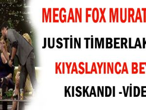 Megan Fox Murat Boz'u Justin Timberlake ile Kıyaslayınca Beyaz Kıskandı -VİDEO