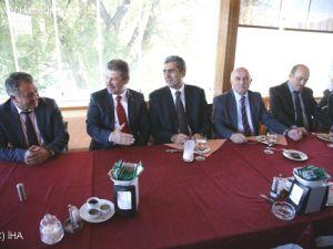 Konya Pankobirlik Başkanı Recep Konuk Kayseri Şeker'de