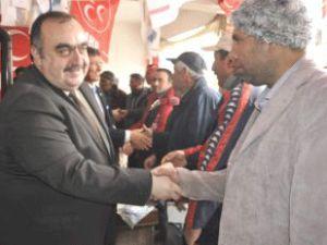 MHP Saroğlan ve Akkışla Kongereleri Tamamlandı