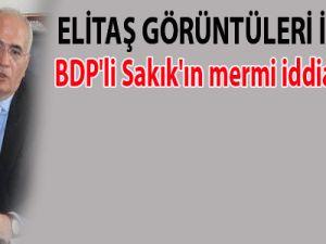 BDP'li Sakık'ın mermi iddiası yalan