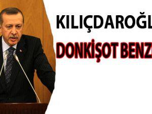 Kılıçdaroğlu'na Don Kişot benzetmesi
