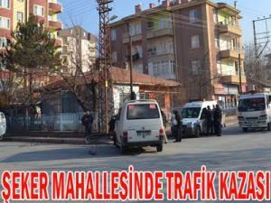 KEYKUBAT ŞEKER MAHALLESİNDE TRAFİK KAZASI 12 YARALI