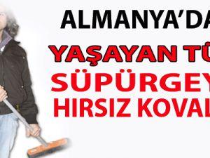Almanya'da Yaşayan Türk Süpürgeyle Hırsız Kovaladı