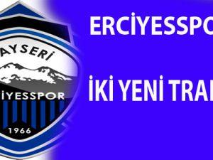 KAYSERİ ERCİYESSPOR'DA İKİ YENİ TRANSFER