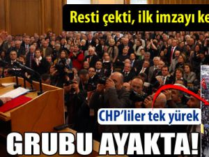 CHP grubu ayakta