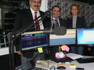 Ayaş Belediye Başkanı Kontv Sinan Burhan'ı Ziyaret Etti
