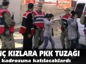 Genç kızlara PKK tuzağı