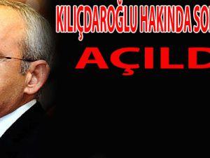 Kılıçdaroğlu'na Soruşturma Şoku
