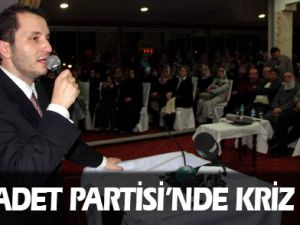 Saadet Partisi'nde Erbakan krizi