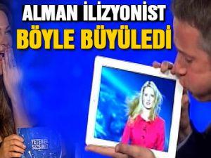Yetenek Sizsiniz Türkiye'de Hülya'yı büyüleyen Alman ilizyonist