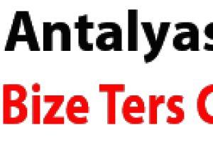 Antalyaspor bize ters geliyor