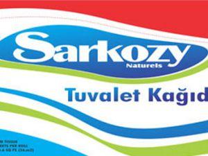 Kayserili İş Adamı Sarkozy'i tuvalet kağıdı yaptı