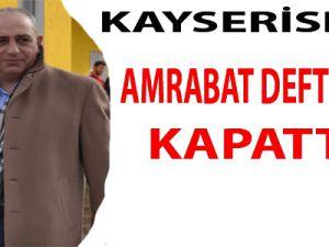 KAYSERİSPOR AMRABAT DEFTERİNİ KAPATTI