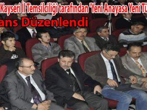 KAYSERİ EĞİTİM-BİR-SEN KONFERANS DÜZENLEDİ