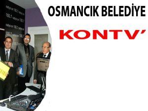 Osmancık Belediye Başkanı  KONTV'DE