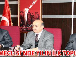 TALAS MECLİSİ'NDE YILIN İLK TOPLANTISI