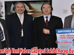 Eğitim-Bir-Sen'den Yeni Haber Gazetesi Sahibi Recep Bulut'a Ziyaret