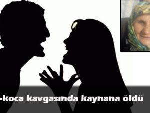 KARI  KOCA  KAVGASINDA   KAYNANA ÖLDÜ