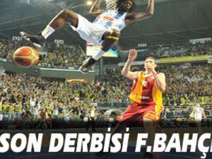 Son derbi Fenerbahçe'nin