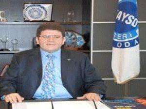 KAYSO Başkanı Mustafa Boydak'tan Yeni Yıl Mesajı