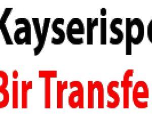 Kayserispor'dan bir transfer daha