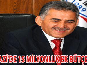 MELİKGAZİ'DE 15 MİLYONLUK EK BÜTÇE YAPILDI