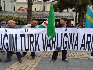 Kayseri'de Andımız Protestosu