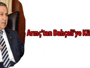 Bülent  Arınç'tan Bahçeli'ye Kürt Cevabı