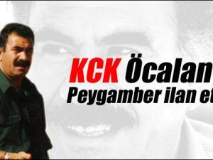 KCK Öcalan'ı Peygamber ilan etti