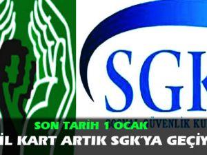Yeşil kart artık SGK'ya geçiyor