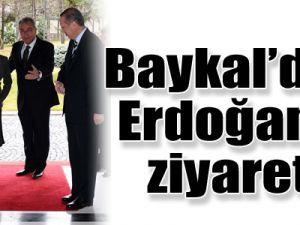 Baykal, Başbakan'ı ziyaret etti!