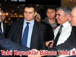 Enerji ve Tabii Kaynaklar Bakanı Yıldız Kayseri'de