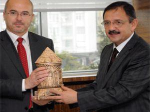 Polonya Büyükelçisi Wilczek Kayseri'de