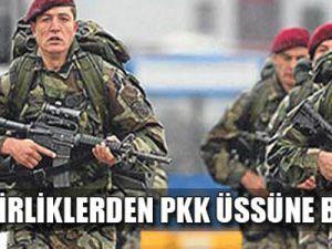 Özel birliklerden PKK üssüne baskın