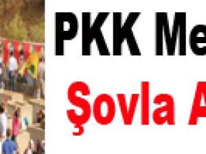 PKK Mezarlığı Şovla Açıldı
