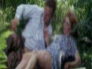 Yaşlı çift ormanda fantazi yapınca yakayı ele verdi