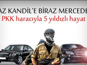 PKK haracıyla 5 yıldızlı hayat