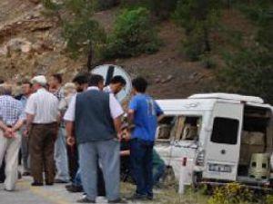Kayseri'de Trafik Kazası:1 Ölü